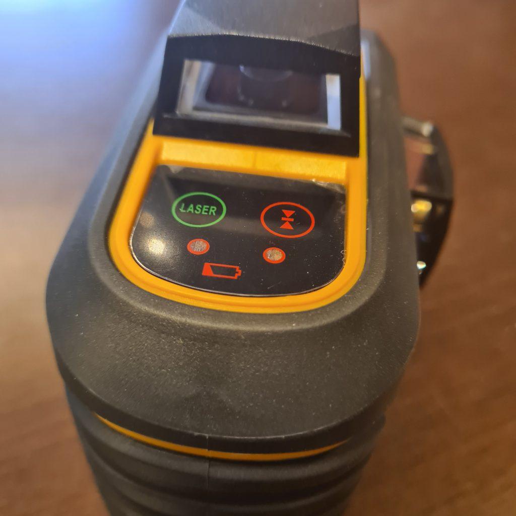panel sterowania laserem cl3d-g